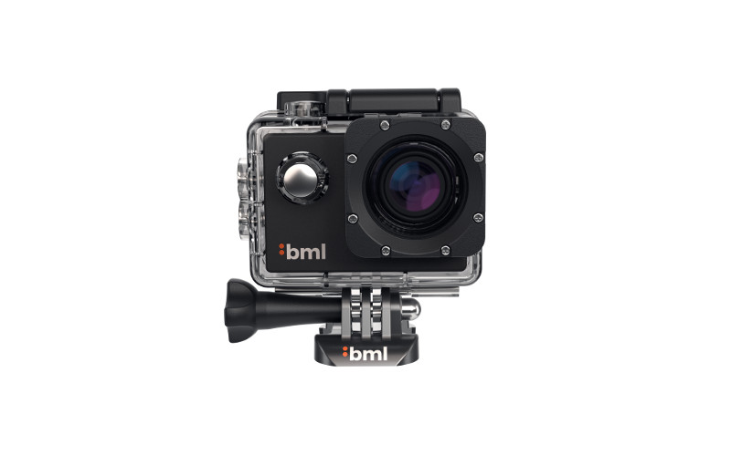 Highly-durable action camera