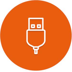 USB vstup